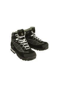 Czarne buty trekkingowe Vemont na sznurówki