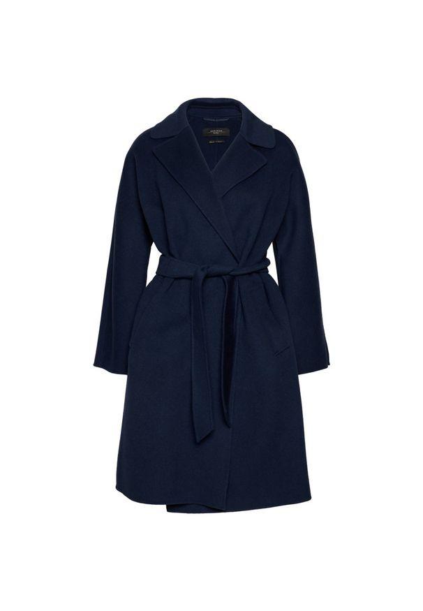 Niebieski płaszcz Weekend Max Mara