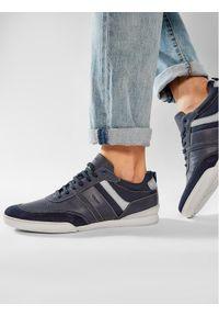 Geox Sneakersy U Kristof A U150EA 0PTFU C4002 Granatowy. Kolor: niebieski