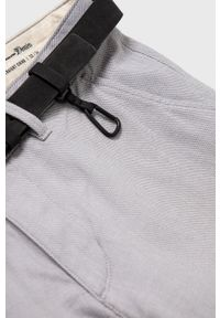 Tom Tailor - Spodnie. Kolor: szary. Materiał: tkanina, bawełna. Wzór: gładki