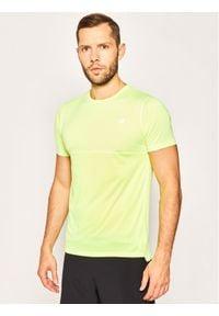 New Balance Koszulka techniczna Acclerate MT93180L Żółty Regular Fit. Kolor: żółty