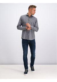 Digel Koszula 1297012 Szary Modern Fit. Kolor: szary