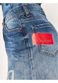 Niebieska spódnica jeansowa Desigual
