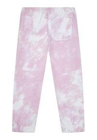 Calvin Klein Jeans Spodnie dresowe Cloud Aop IG0IG00775 Różowy Relaxed Fit. Kolor: różowy. Materiał: dresówka