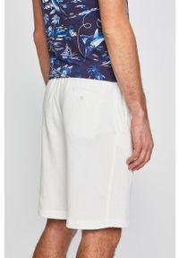 Białe szorty Polo Ralph Lauren na co dzień, gładkie