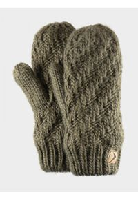 Brązowe rękawiczki sportowe outhorn