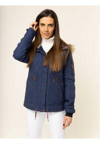 Niebieska kurtka zimowa Roxy