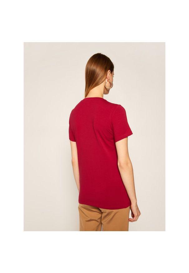 Czerwony t-shirt Trussardi Jeans