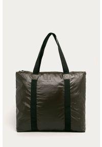 Brązowa torba podróżna Rains casualowa