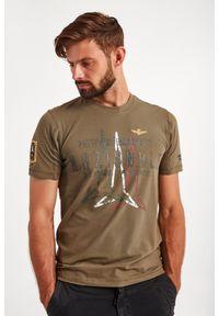 Aeronautica Militare - T-SHIRT AERONAUTICA MILITARE. Wzór: haft, aplikacja, nadruk