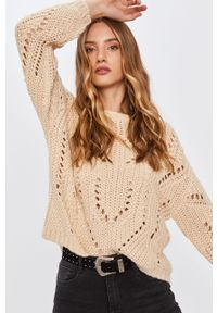 Beżowy sweter Answear Lab wakacyjny