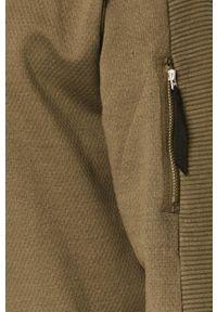 G-Star RAW - G-Star Raw - Bluza bawełniana. Okazja: na co dzień. Kolor: zielony. Materiał: bawełna. Wzór: gładki. Styl: casual