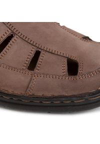 Brązowe sandały Go Soft na lato, klasyczne