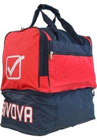Givova Torba Givova Medium czerwono granatowa. Kolor: niebieski, czerwony, wielokolorowy