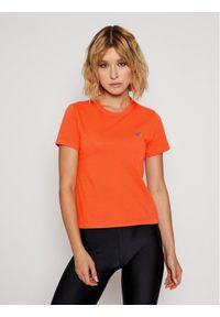 Pomarańczowy t-shirt Vans