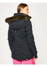Roxy Kurtka snowboardowa Quinn ERJTJ03227 Czarny Tailored Fit. Kolor: czarny