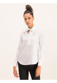 Biała bluzka Cavalli Class