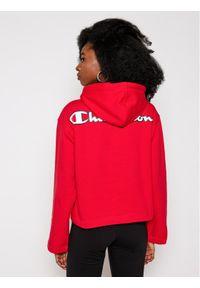 Champion Bluza Logo Cropped 113186 Czerwony Custom Fit. Kolor: czerwony