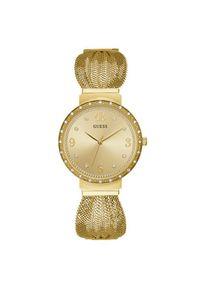 Złoty zegarek Guess