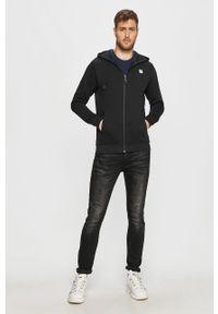 Czarna bluza rozpinana 4f z kapturem, na co dzień, casualowa