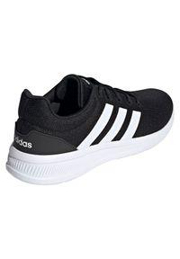 Adidas - Buty męskie adidas Lite Racer CLN 2.0 H04286. Zapięcie: pasek. Materiał: guma, materiał. Szerokość cholewki: normalna. Wzór: paski. Sezon: lato. Model: Adidas Racer. Sport: fitness