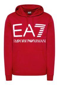 EA7 Emporio Armani Bluza 6KPM69 PJBWZ 1459 Czerwony Regular Fit. Kolor: czerwony