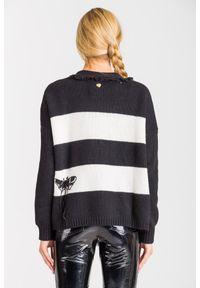 Sweter TwinSet z długim rękawem, na spacer, krótki