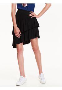 Czarna spódnica TROLL na co dzień, na zimę, sportowa