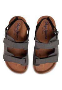 Szare sandały Pepe Jeans