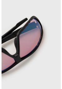Uvex - Okulary przeciwsłoneczne. Kolor: czarny