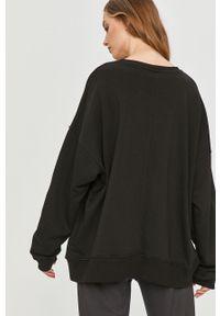 Czarna bluza Answear Lab z długim rękawem, bez kaptura