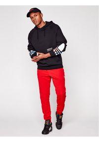 Adidas - adidas Bluza Tricol GN3570 Czarny Regular Fit. Kolor: czarny