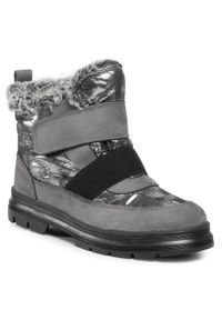 Szare buty zimowe Primigi