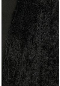Czarny sweter rozpinany Answear Lab wakacyjny, na co dzień