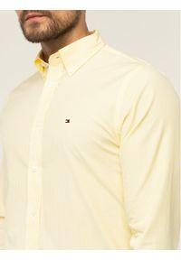 Żółta koszula casual TOMMY HILFIGER