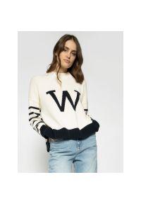 Biały sweter Weekend Max Mara