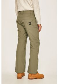 Zielone spodnie Quiksilver