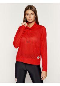 Czerwona bluza DKNY Sport sportowa