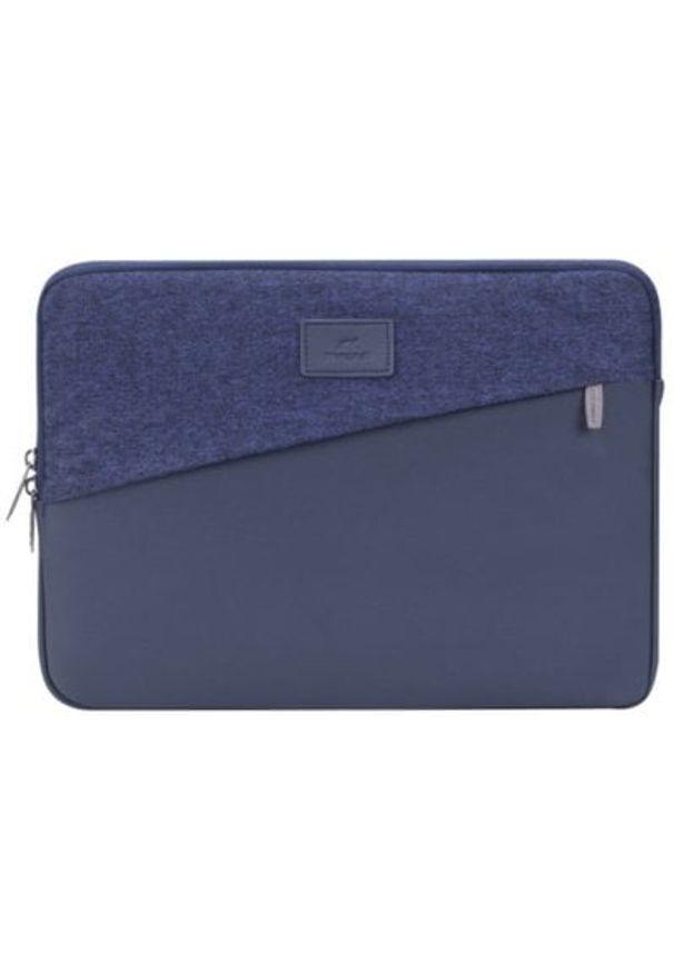 Niebieskie etui na laptopa RIVACASE jodełka