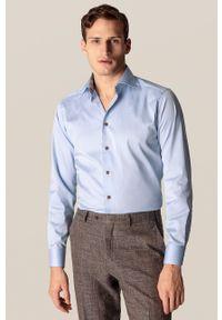 Eton - ETON - Koszula. Kolor: niebieski. Materiał: tkanina. Długość rękawa: długi rękaw. Długość: długie. Wzór: gładki
