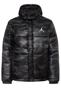 Szara kurtka puchowa Nike