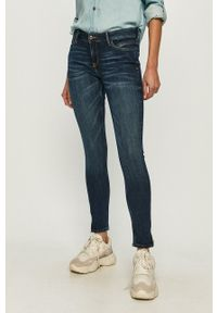 Cross Jeans - Jeansy Giselle. Stan: podwyższony. Kolor: niebieski