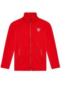 Czerwona bluza sportowa Rossignol