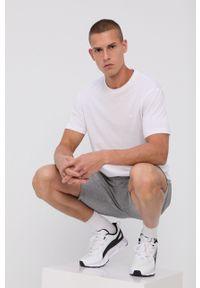 Emporio Armani - T-shirt bawełniany (2-pack). Okazja: na co dzień. Kolor: biały. Materiał: bawełna. Wzór: nadruk. Styl: casual