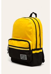 Żółty plecak Tommy Jeans z aplikacjami