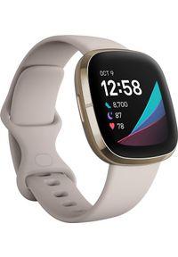 FITBIT - Smartwatch Fitbit Sense Biały (FB512GLWT). Rodzaj zegarka: smartwatch. Kolor: biały