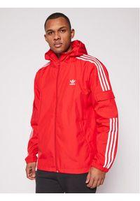 Adidas - adidas Wiatrówka Classics GN3473 Czerwony Regular Fit. Kolor: czerwony