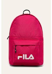 Różowy plecak Fila z nadrukiem