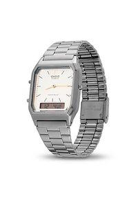 Srebrny zegarek Casio