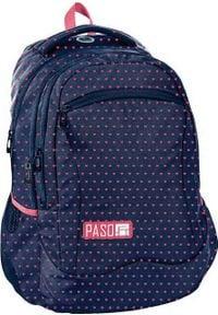 Paso Plecak szkolny granatowy (PPMW19-2808). Kolor: niebieski